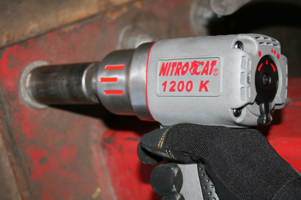 Nitrocat 1200 K 1 2 Inch Kevlar Composite Air Impact Wrench