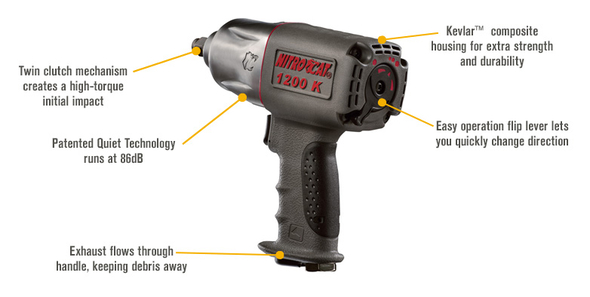 nitrocat 1200-k air impact wrench review