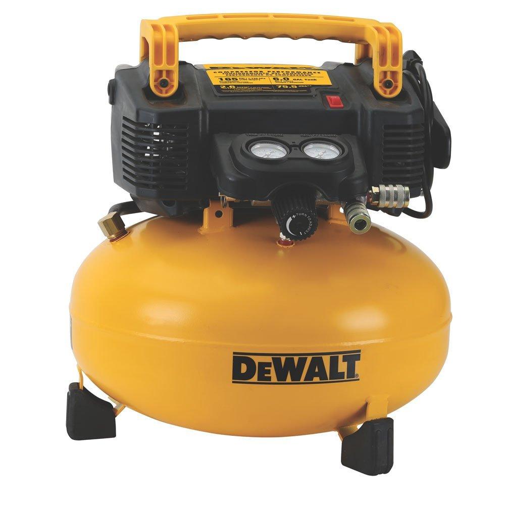 DEWALT DWFP55126 6-Gallon 165 PSI Pancake Compressor